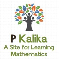 P  Kalika | A site for learning Mathematics