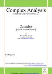Complex Short notes 28pages_1