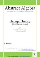 Group Theory Quick Revision 112Pages_1