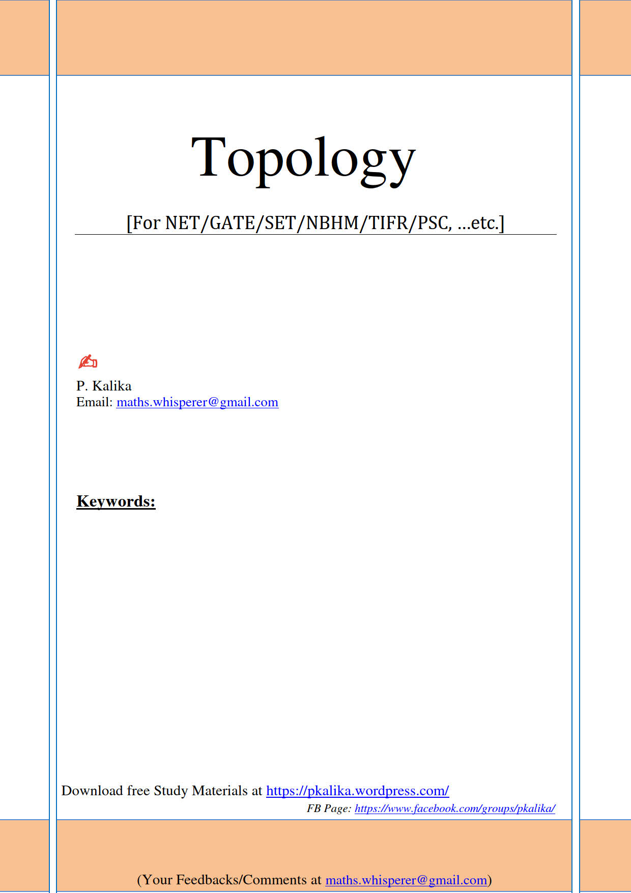 Topology 92pages by Kalika_1