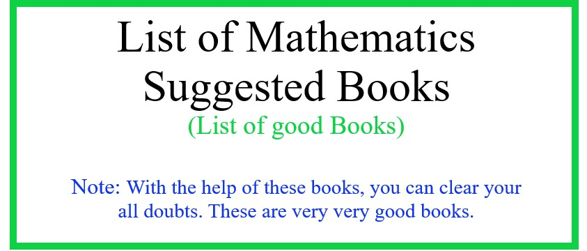 Suggested Books