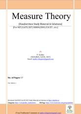 Measure Theory (Kalika)57Pages_1