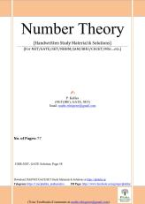 Number Theory (Kalika)77Pages_1