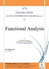 Functional Analysis (Kalika)83