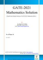 GATE 2021 Solution (Kalika)56Pages